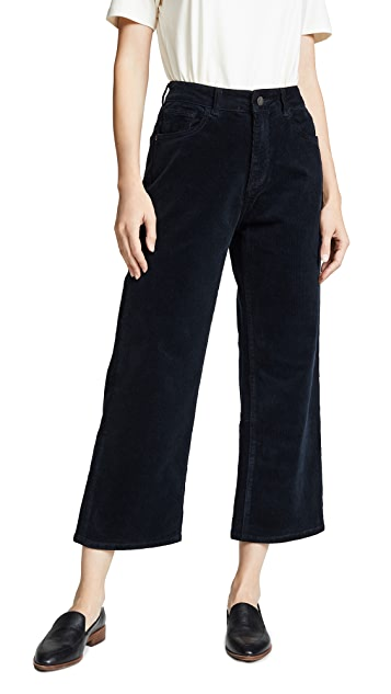 DL1961 Hepburn High Rise Corduroy Wide Leg Pants
