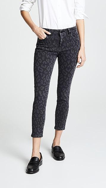 DL1961 Укороченные джинсы-скинни Florence Instasculpt