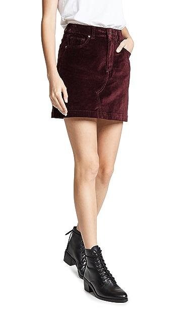 DL1961 Бархатная юбка Georgia