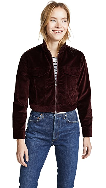 DL1961 Clyde Velvet Jacket