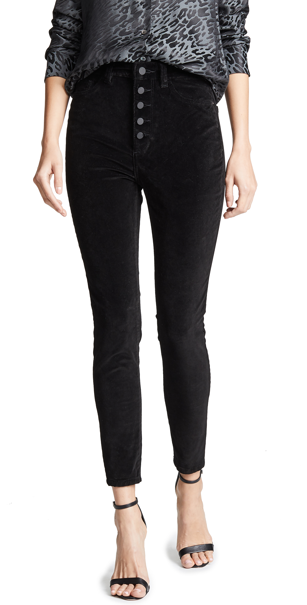 DL1961 Chrissy Velvet Ultra High Rise Jeans