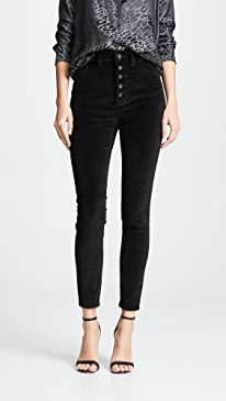 Chrissy Velvet Ultra High Rise Jeans
