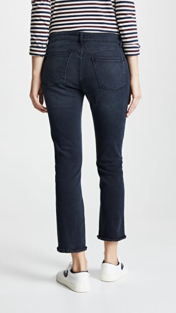 DL1961 Mara Ankle Instaculpt Straight Leg Jeans
