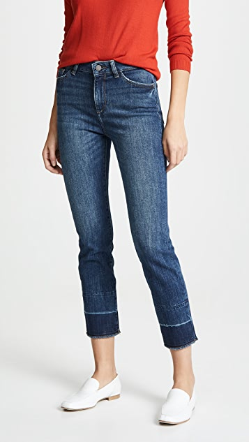 DL1961 Mara Instaculpt Straight Ankle Jeans