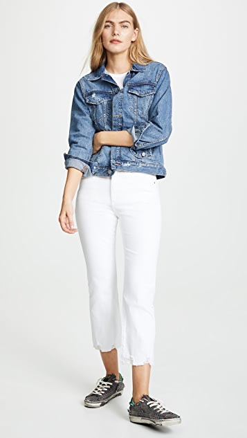DL1961 Классический джинсовый жакет Clyde