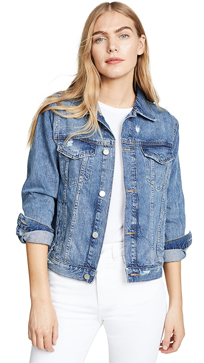 Be Bop Clothing Vintage Denim Jacket