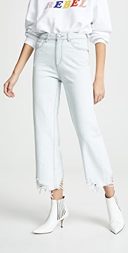 DL1961 - Hepburn High Rise Wide Leg Jeans