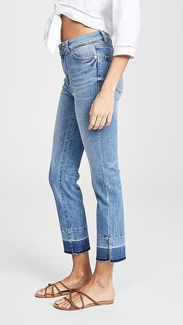 DL1961 Mara Instasculpt 直脚九分牛仔裤