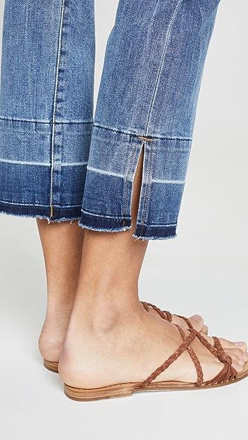 DL1961 Прямые джинсы до щиколотки Mara Instasculpt