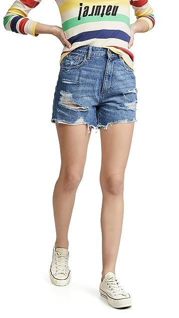 DL1961 Hepburn High Rise Shorts