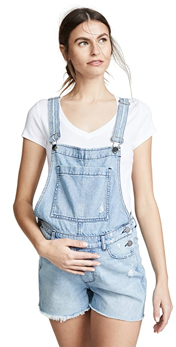 DL1961 Abigail Maternity Overalls - Crowley