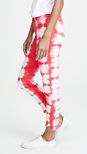 DL1961 Florence Crop Mid Rise Instasculpt Jeans