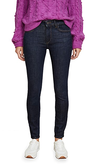 DL1961 Florence Mid Rise Skinny Jeans