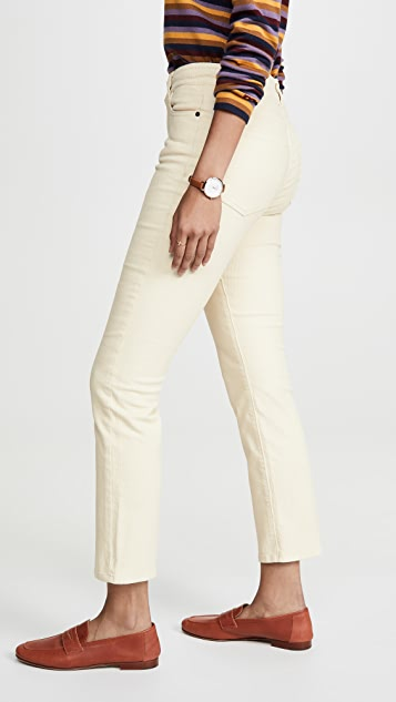 DL1961 Mara Ankle High Rise Straight Jeans