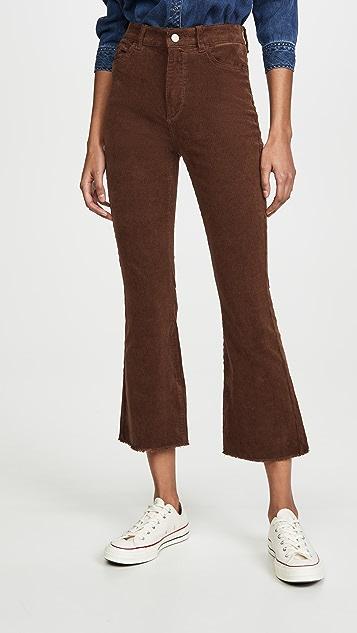 DL1961 Bridget Crop Boot Cut Pants