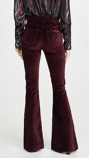 DL1961 Rachel 35' 高腰喇叭牛仔裤