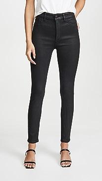 x Marianna Hewitt Farrow Ankle High Rise Skinny Jeans