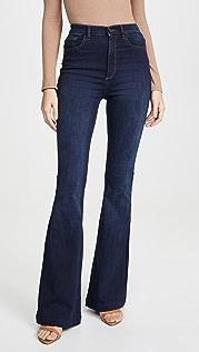DL1961 Rachel 高腰喇叭牛仔裤