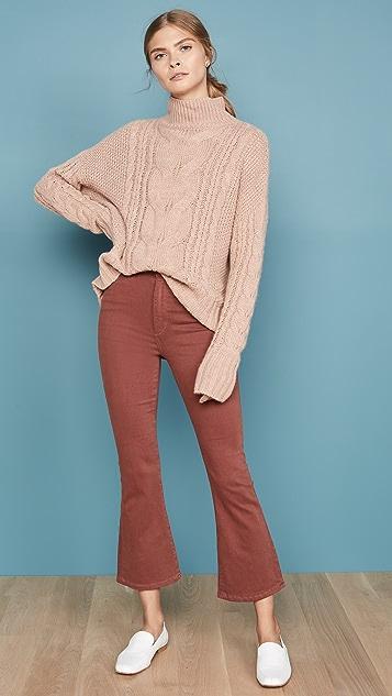 DL1961 x Marianna Hewitt Bridget 高腰微喇九分牛仔裤
