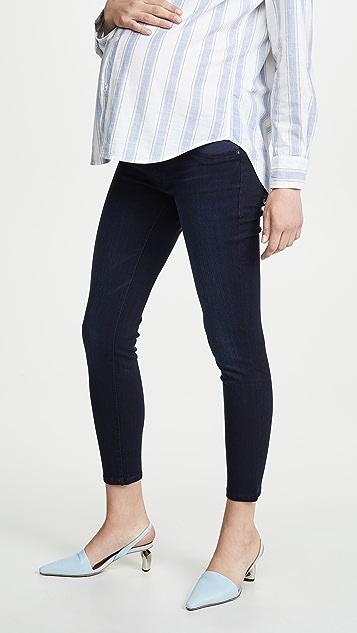 DL1961 Emma 低腰孕妇装紧身牛仔裤