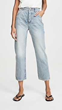 Jerry High Rise Straight Jeans