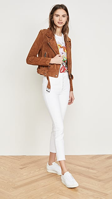 DL1961 Farrow Cropped Vintage High Rise Skinny Jeans