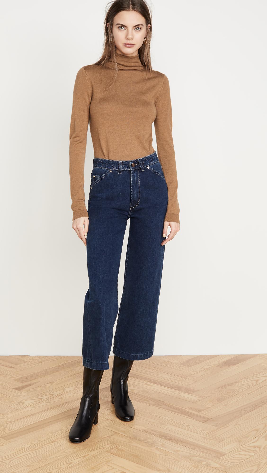 DL1961 Hepburn High Rise Wide Leg Jeans