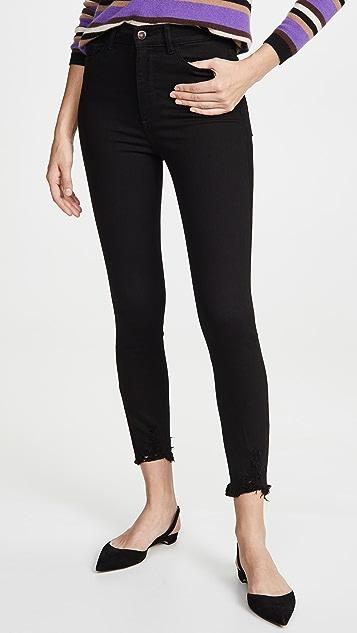DL1961 Укороченные джинсы-скинни с высокой посадкой x Marianna Hewitt Farrow