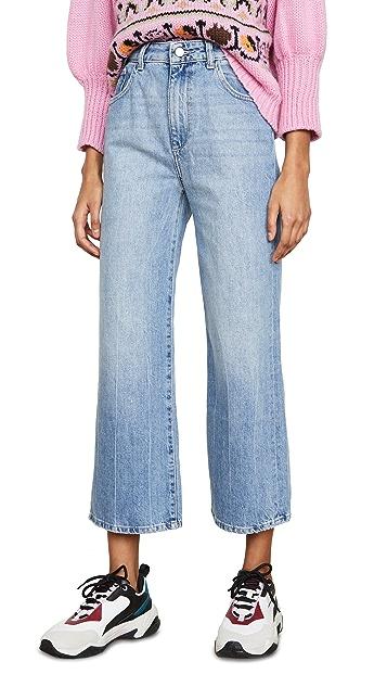 DL1961 Широкие джинсы x Marianna Hewitt Hepburn с высокой посадкой