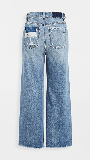 DL1961 Hepburn Wide Leg Jeans