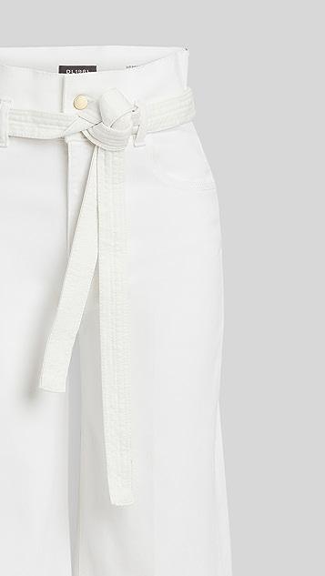DL1961 Hepburn 高腰牛仔裤
