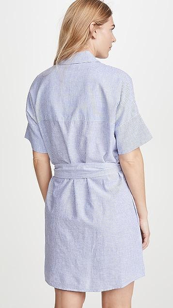 DL1961 Cranberry 衬衣连衣裙