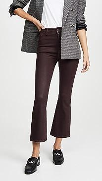 Bridget Crop High Rise Bootcut Jeans