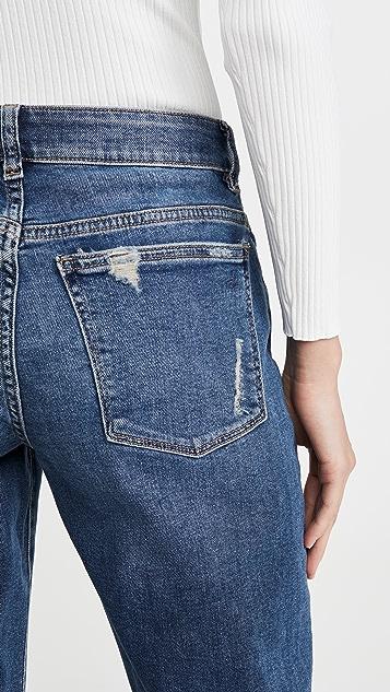 DL1961 Riley 中腰男友风格短裤