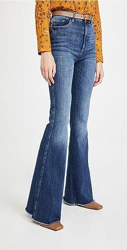DL1961 - Rachel High Rise Flare Jeans