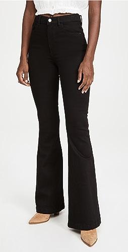 DL1961 - Rachel 高腰喇叭牛仔裤