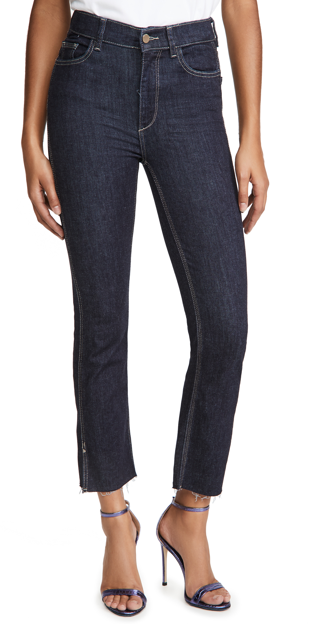 DL1961 Better by DL Mara Ankle High Rise Straight Jeans