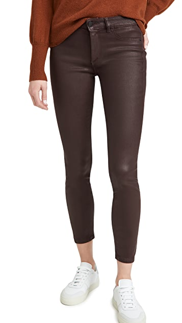 DL1961 Florence Ankle Mid Rise Skinny Jeans