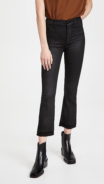 DL1961 Bridget 高腰微喇中长牛仔裤