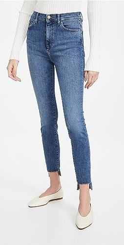 DL1961 - Chrissy 超高腰紧身牛仔裤