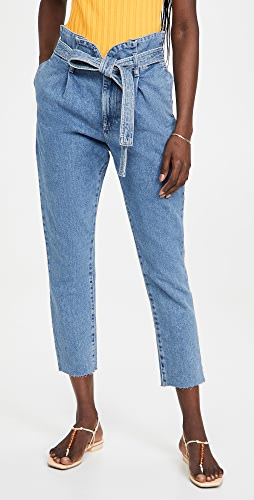DL1961 - Susie Tapered Paperbag Jeans