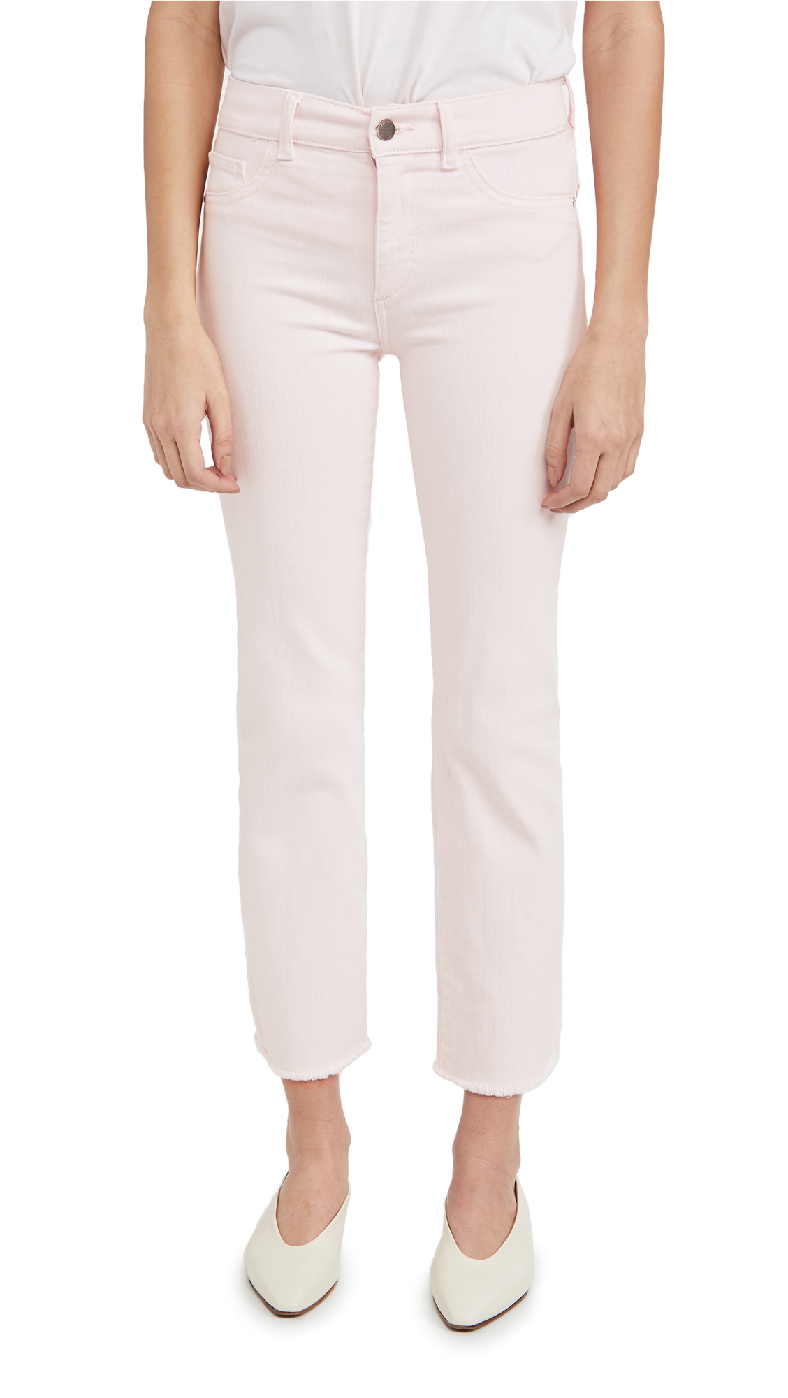 Dl 1961 MARA MID RISE INSTASCULPT ANKLE STRAIGHT JEANS