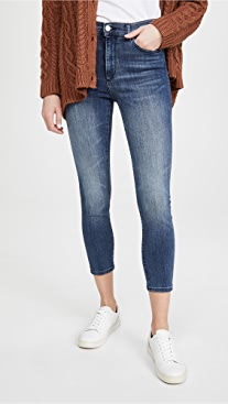 DL1961 Farrow Skinny High Rise Jeans