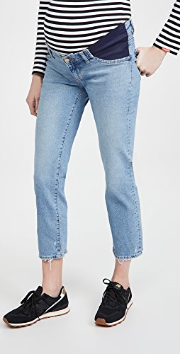 DL1961 - Patti Straight Maternity Mid-Rise Jeans