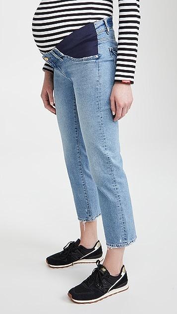 DL1961 Patti 直脚孕妇装中腰牛仔裤