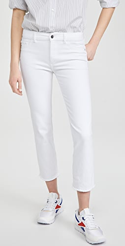 DL1961 - Mara Mid Rise Instasculpt Ankle Straight Jeans