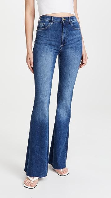 DL1961 Rachel Flare Ultra High Rise Instasculpt Jeans
