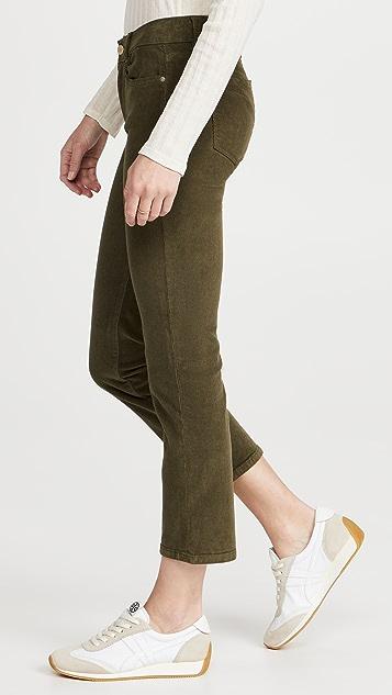 DL1961 Mara Instasculpt 直脚九分裤