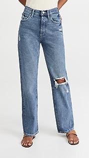 DL1961 Emilie Straight Ultra High Rise Vintage Jeans