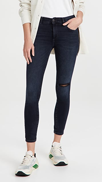 DL1961 Florence Skinny Mid Rise Instasculpt Ankle Jeans